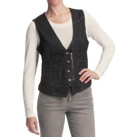 FDJ French Dressing Euro Denim Vest (For Women)
