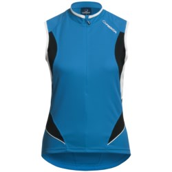 Orbea Series Cycling Jersey - Zip Neck, Sleeveless (For Women)