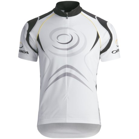 Orbea Sport Cycling Jersey - Zip Neck, Short Sleeve (For Men)