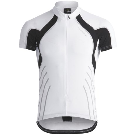 Orbea Fitness Cycling Jersey - Zip Neck, Short Sleeve (For Men)