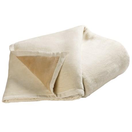 DownTown Reversible Egyptian Cotton Blanket - Twin