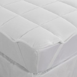 DownTown Mattress Pad - King, Merino Wool Fill, Anchor Bands
