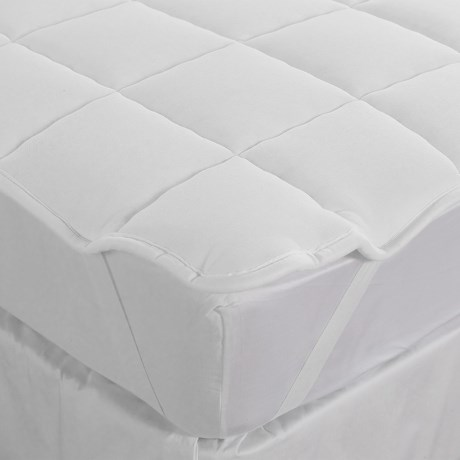 DownTown Mattress Pad - Queen, Merino Wool Fill, Anchor Bands