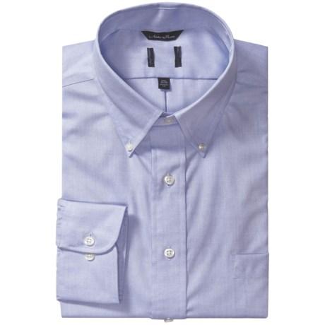 Button-Down Collar Dress Shirt - Long Sleeve (For Men)