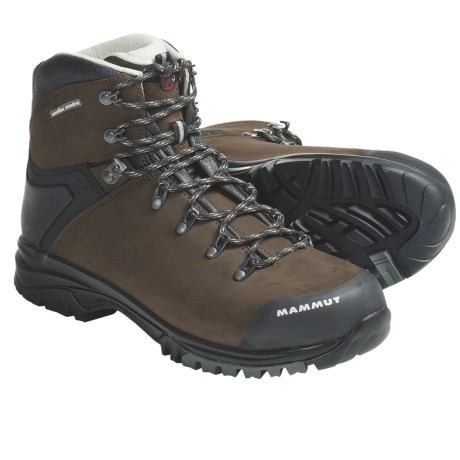 Mammut Mt. Crest LTH Hiking Boots - Nubuck (For Men)
