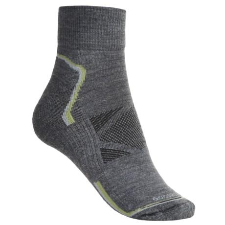 Goodhew Outdoor Tech Socks - Merino Wool, 2-Pack, Quarter-Crew, Medium Cushion (For Women)