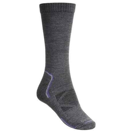 Goodhew Outdoor Tech Socks - Merino Wool, 2-Pack, Crew, Medium Cushion (For Women)