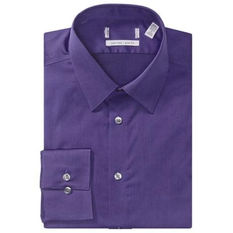 Point Collar Dress Shirt - Slim Fit, Long Sleeve (For Men)