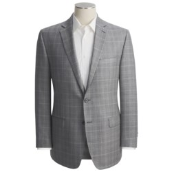 Calvin Klein Windowpane Sport Coat - Slim Fit, Silk-Wool (For Men)