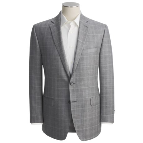 Calvin Klein Windowpane Sport Coat - Slim Fit, Silk-Wool (For Men)