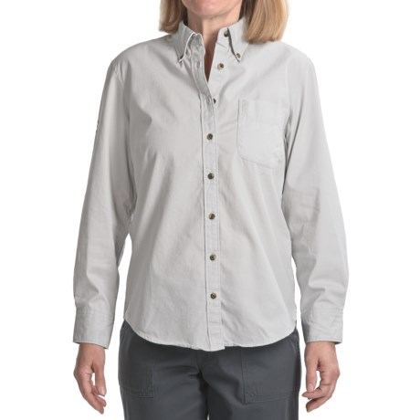 Timeout Insect Shield® Twill Work Shirt - Long Sleeve (For Women)