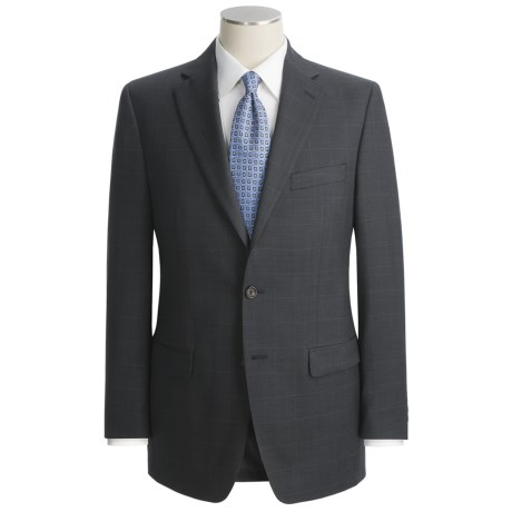 Lauren by Ralph Lauren Subtle Windowpane Suit - Wool (For Men)