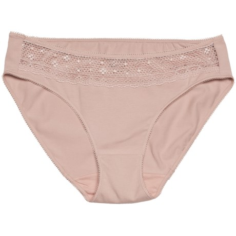 Le Mystere Caress Underwear - Bikini Briefs, Stretch Cotton (For Women)