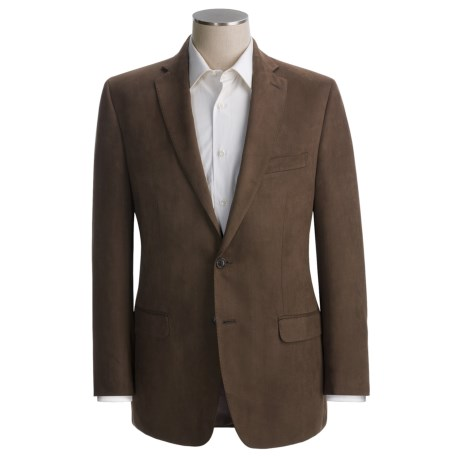 Calvin Klein Faux-Suede Sport Coat -Slim Fit (For Men)