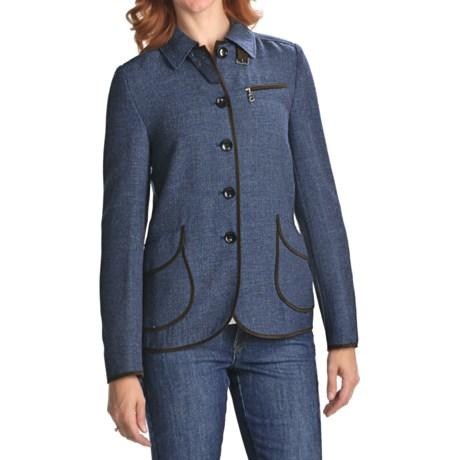 Bogner Collie Jacket - New Wool, Deconstructed (For Women)