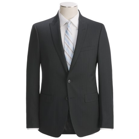Calvin Klein Stripe Suit - Slim Fit, Wool (For Men)