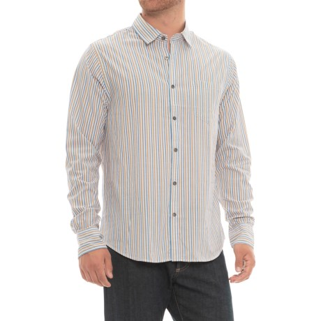 Chambray Striped Shirt - Long Sleeve (For Men)