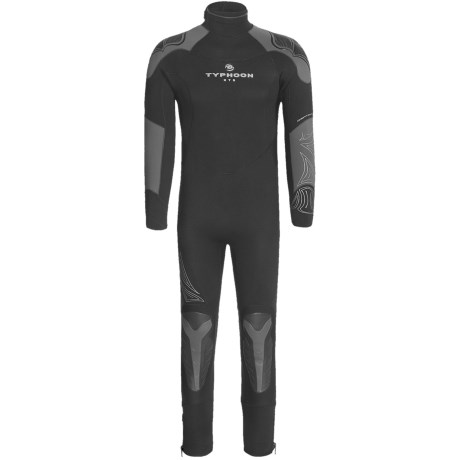 Typhoon Raptor 7/5/4 Semi-Dry Wetsuit  - 7mm (For Men)