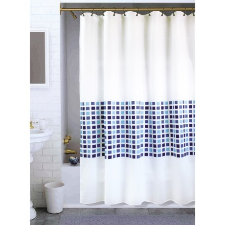 Legacy Home Legacy Vermont Squares Shower Curtain - 70x72""