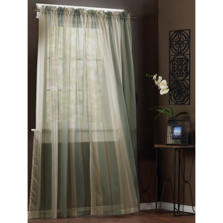 Habitat Allister Sheer Curtains - 84""