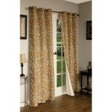 """Thermalogic Weathermate Hanover Floral Curtains - 80x72"""", Grommet-Top, Insulated"""