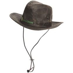 John Deere Aussie Hat - UPF 50+, Weathered Cotton (For Men)