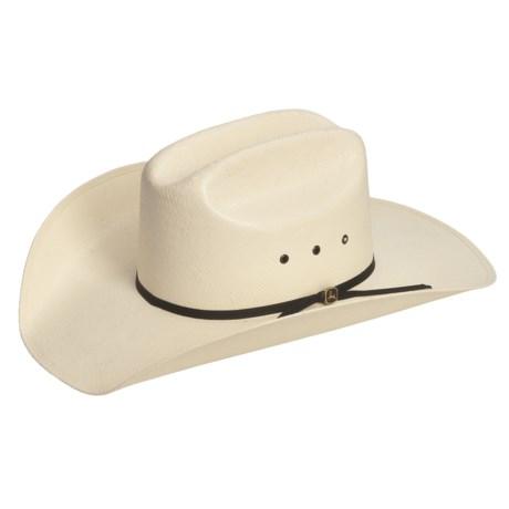 John Deere Ranch Hand Western Hat - Toyo Straw (For Men)