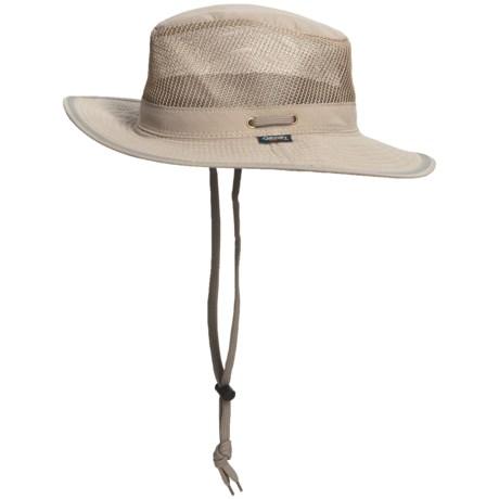 Dorfman Pacific Headwear Discovery Expedition Microfiber Safari Hat - UPF 50+, Neck Shield (For Men and Women)