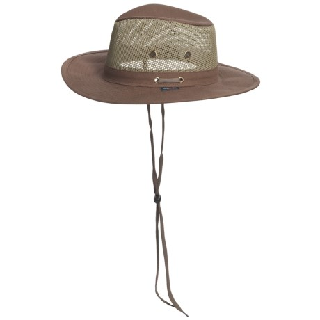 Dorfman Pacific Headwear Discovery Expedition Canvas Safari Hat (For Men and Women)