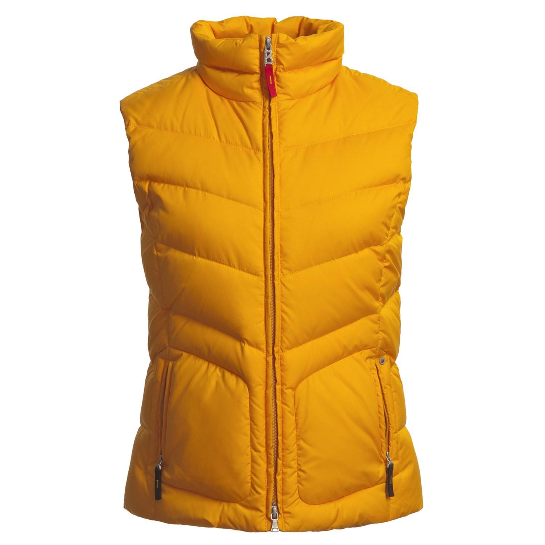 bogner fire ice dana d down vest for women 4851j. Black Bedroom Furniture Sets. Home Design Ideas