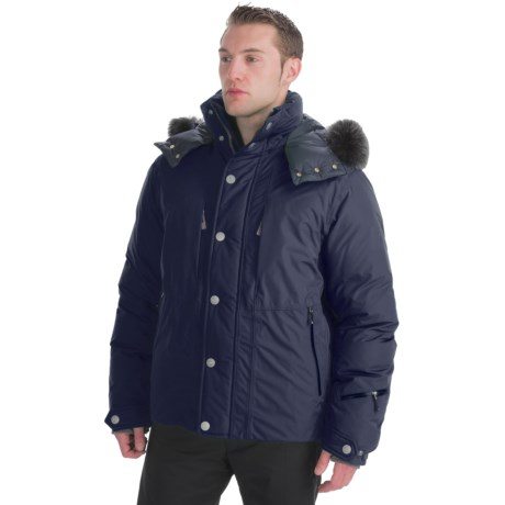 Bogner Fire + Ice Sid-DP Down Jacket - 800 Fill Power, Fur Trim (For Men)