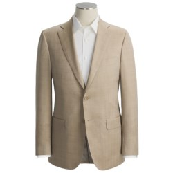 Isaia Small Herringbone Sport Coat - Wool-Silk (For Men)