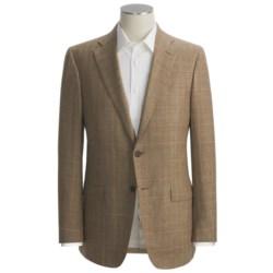 Isaia Multi-Check Sport Coat - Wool-Silk-Linen (For Men)