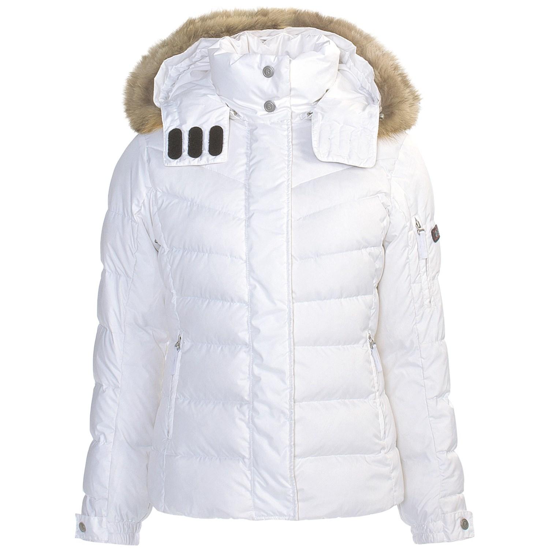 bogner fire ice sale dp down jacket with fur trim for women 4854u save 60. Black Bedroom Furniture Sets. Home Design Ideas