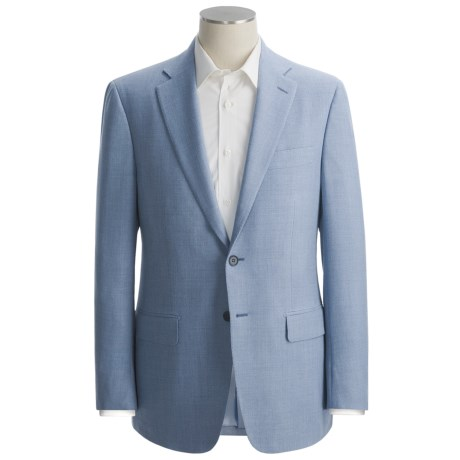 Isaia Basket Weave Sport Coat - Wool-Lambswool-Cashmere (For Men)