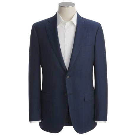 Isaia Shadow Stripe Sport Coat - Linen-Silk (For Men)