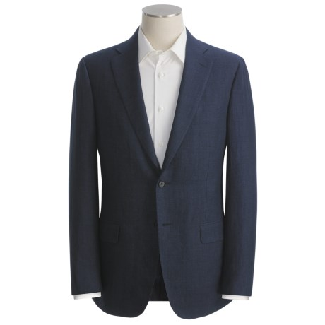 Isaia Subtle Herringbone Sport Coat - Linen (For Men)