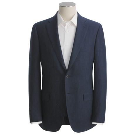 Isaia Subtle Herringbone Sport Coat - Linen (For Men)