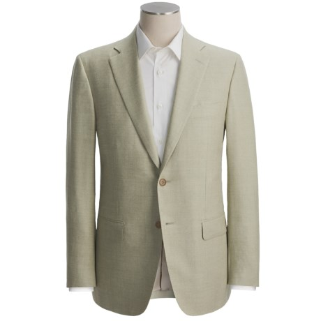 Isaia Fancy Tweed Sport Coat - Wool-Silk-Linen (For Men)