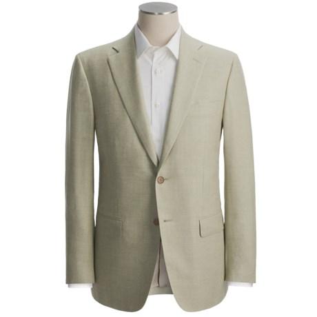 Isaia Fancy Tweed Sport Coat - Wool-Silk-Linen (For Men)