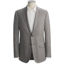 Isaia Multi-Check Sport Coat - Wool-Silk (For Men)