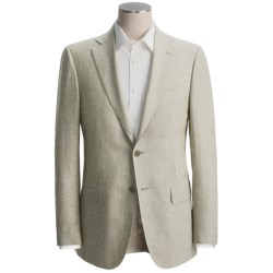 Isaia Striped Sport Coat - Linen-Wool (For Men)