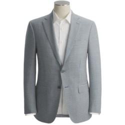 Isaia Mini-Check Sport Coat - Wool (For Men)