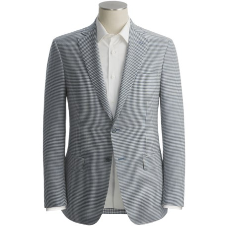 Isaia Mini-Check Sport Coat - Wool (For Men)