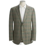 Isaia Glen Plaid Sport Coat - Wool (For Men)