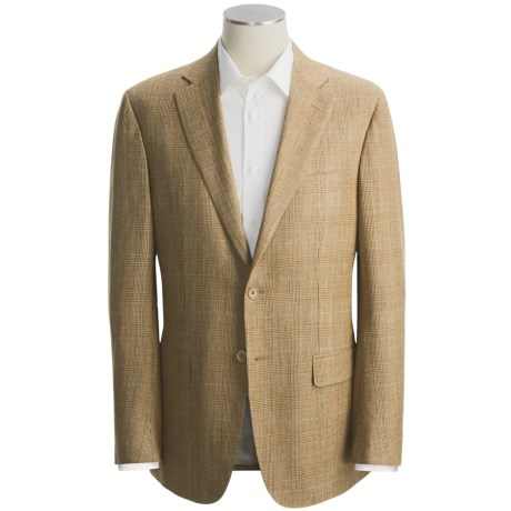 Isaia Glen Plaid Sport Coat - Wool-Silk-Linen (For Men)