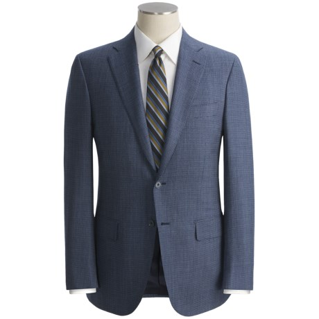 Isaia Mini Fancy Check Sport Coat - Wool (For Men)