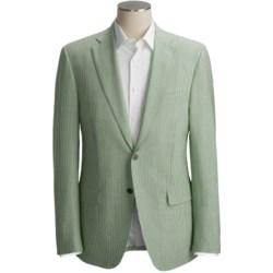 Isaia Seersucker Sport Coat - Wool-Silk (For Men)