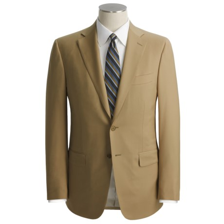 Isaia Solid Wool Suit (For Men)