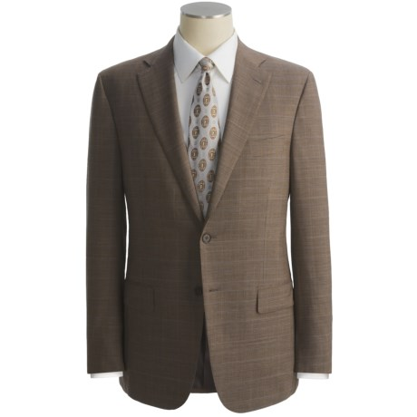 Isaia Houndstooth Glen Plaid Suit - Wool (For Men)